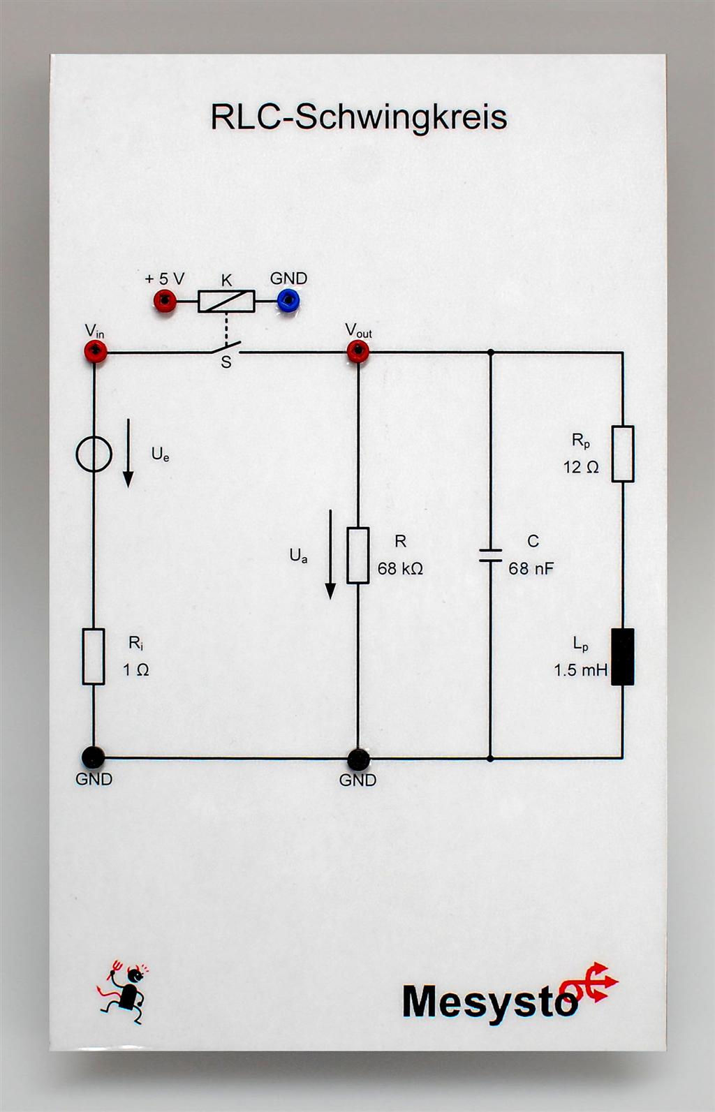 Systemtheorie Online: RLC-Netzwerke mit gespeicherter Energie